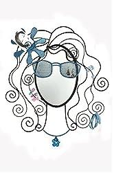 BALI MANTRA Glare Girl Mirror (Blue)