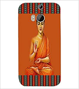 HTC ONE M8 SAINT Designer Back Cover Case By PRINTSWAG