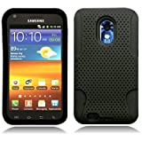Aimo Wireless SAMD710PCPA001 Hybrid Armor Cheeze Case for Samsung Galaxy S2/Epic 4G Touch/D710 - Retail Packaging - Black
