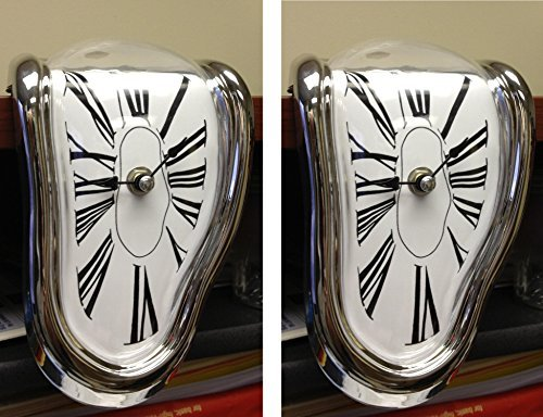 Can You Imagine Melting Clock (2 Pack)