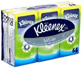 Kleenex Balsam Hanks 6 x 9 Sheets (Pack of 12, Total 72 Packets)