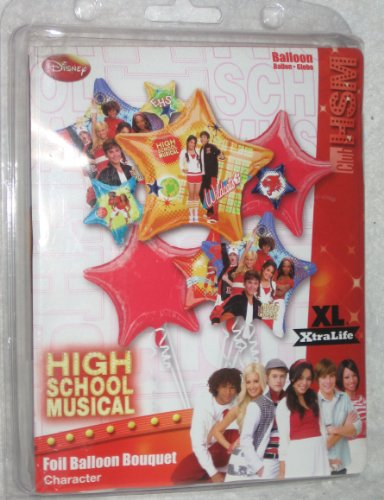 High School Musical Foil Balloon Bouquet - 1