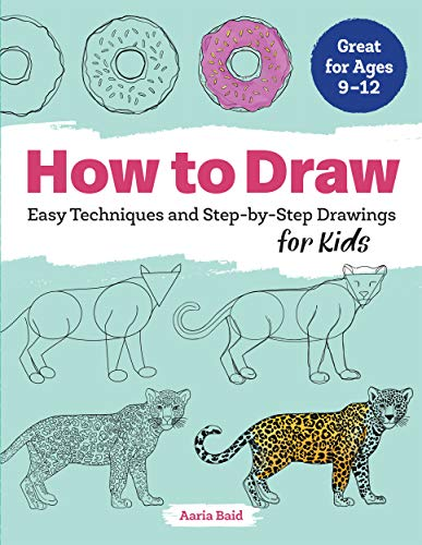 How to Draw Easy Techniques and Step-by-Step Drawings for Kids [Baid, Aaria] (Tapa Blanda)