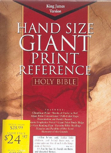 KJV Giant Print Reference Bible (King James Version)