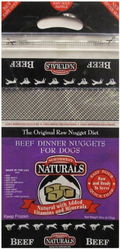 Northwest Naturals Raw Frozen Nuggets