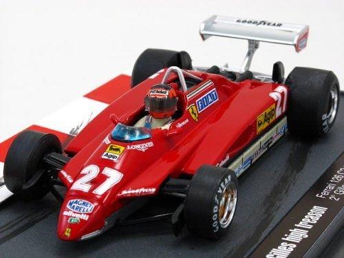 フェラーリ 126C2 ターボ 82 イモラGP #27 Gilles high treason (1/43 KBB004)