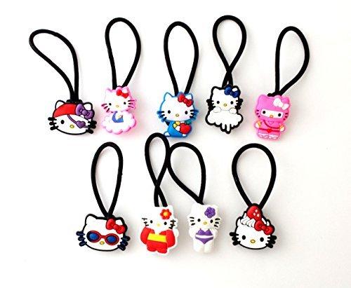 9 pezzi Elastico Nastro per Capelli Hello Kitty #5