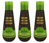 MACADAMIA OIL by Macadamia Natural Oil: REJUVENATING SHAMPOO 3.3 OZ (3 pack)
