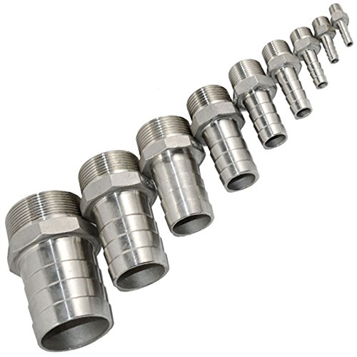 SuperWhole-12-Male-Thread-Pipe-Fitting-x15mm-Barb-Hose-Tail-Connector-Stainless-Steel-NPT