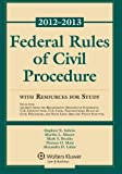 Federal Rules of Civil Procedure 2012-2013 Statutory Supplement with Resources for Study