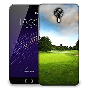 Snoogg Big 6lf Court Designer Protective Phone Back Case Cover For Meizu M2