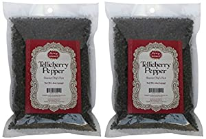 Spicy World Peppercorn (Whole)-Black Tellicherry, 16 Oz. bag from Spicy World