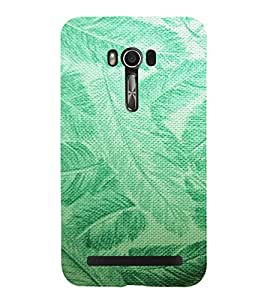 ARTISTIC LEAVES PATTERN DEPICTING THE BEAUTY OF NATURE 3D Hard Polycarbonate Designer Back Case Cover for Asus Zenfone Go (5 Inches ):: Asus Zenfone Go ZC500TG