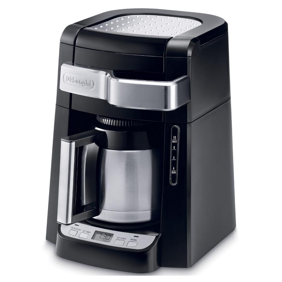 Drip Coffee Maker Pictures : Amazon.com: DeLonghi DCF2212T 12-Cup Glass Carafe Drip Coffee Maker, Black: Drip Coffeemakers ...