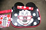 Disney Minnie Mouse Coin Purse Wristlet with Sequin Ears