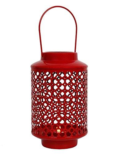 regalos-de-navidad-te-rojo-claro-decorativos-de-hierro-linterna-con-acabado-de-pintura-en-polvo-para