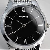 シンプル デザイン!! 金属 バンド 【EYKI アナログ 腕 時計】 並行輸入品