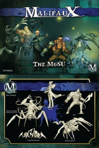 Malifaux: The M and SU by Wyrd Miniatures