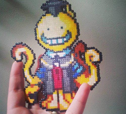sprite-koro-sensei-assassination-classroom-o-hama-beads-o-pixel-art