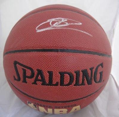Dirk Nowitzki Autographed Ball - I/O - Jsa - Autographed Basketballs