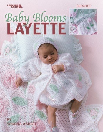 Baby Blooms Layette (Leisure Arts #3671) front-762517