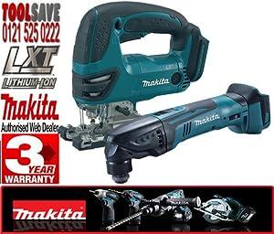 Makita BJV180Z 18V Li-Ion Jigsaw Plus Makita BTM50Z LXT 18v Universal Multi-Tool (Body only)