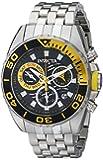 Invicta Men's 14723 Pro Diver Analog Display Swiss Quartz Silver Watch