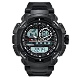 PALADA Men's T8073G Dual Display Waterproof Outdoor Sports Digital Watch with Big Dial and Chronograph
