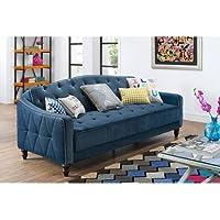 9 by Novogratz Vintage Tufted Sofa
