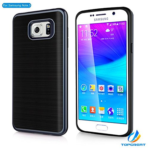 Samsung-Note-5-caseGalaxy-Note-5-caseTopGreat-NEW-Designed-Shockproof-Anti-scratches-Brushed-metal-Protective-Case-Cover-Gifts-For-Samsung-Galaxy-Note-5GirlsBoysKidsManWomen