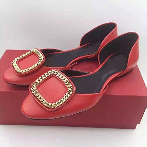btjc-catena-di-metallo-da-fibbia-laterale-nuovo-in-primavera-e-in-estate-scarpe-da-donna-piatta-poco