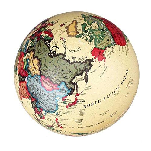FEITONG dettagli circa 6 pollici (15 cm) di rotazione Blue Ocean Desktop Mondiale della Terra Globe BU