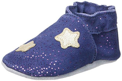 RobeezMOON LIGHT - Scarpine e pantofole primi passi  Unisex - Bimbi 0-24 , Blu (Blu (10)), 23/24