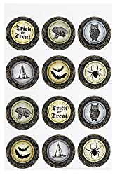 Martha Stewart Crafts Elegant Witch Layered Circle Stickers