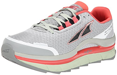 Altra Running Womens Olympus 1.5 Trail Running Shoe, Gray/Mint, 8.5 M US