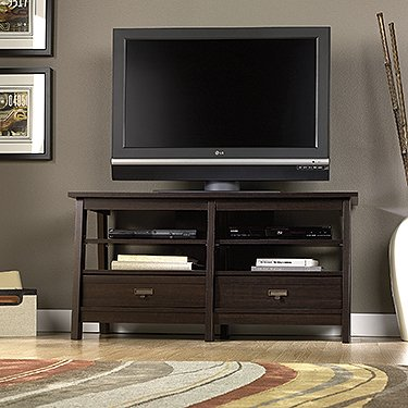 Trestle Panel TV Stand image B00EV00MOY.jpg