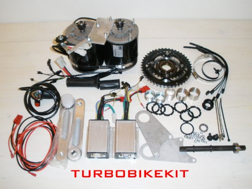 Fast 3 Chainwheel Kit Double 2400watt 48volt with Top Speed up to 100km/h