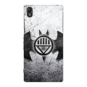 Cute Black Knight Shade Back Case Cover for Sony Xperia Z1
