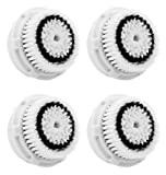 Maeline Replacement Brush Head for Sensitive Cleansing & Delicate Skin (GENERIC) - 4pc Pack