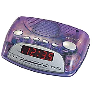 timex t235l nature sounds alarm clock radio electronic alarm clocks everything else. Black Bedroom Furniture Sets. Home Design Ideas