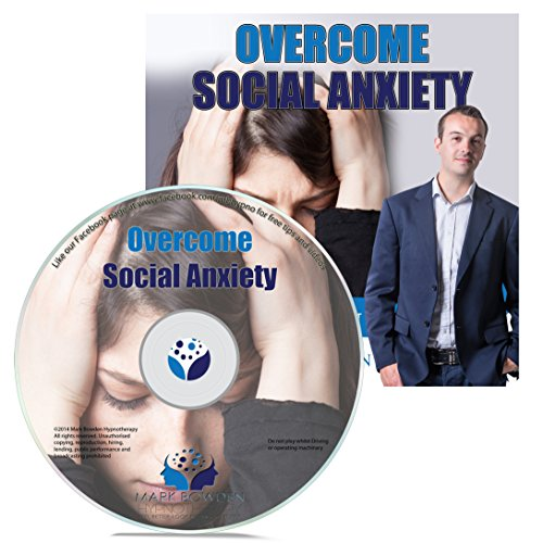 Overcome Social Anxiety Hypnosis CD - Group situations, parties, gatherings and crowds can be very uncomfortable when you suffer with social anxierty. Move on with confidence with this effective hypnotherapy session!
