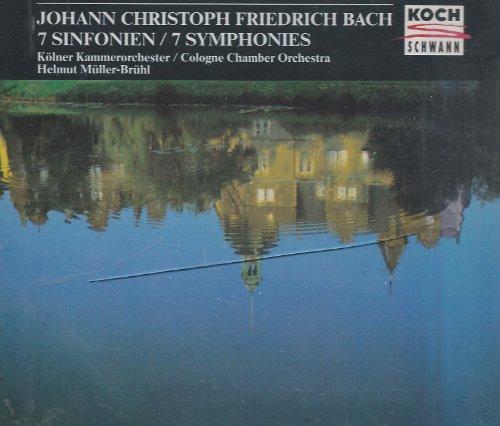 Johann Christoph Friedrich Bach: 7 Symphonies (Nos. 1, 2, 3, 4, 6,1 0, 20) (Johann Christoph Friedrich Bach compare prices)