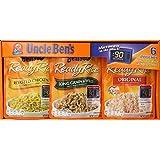 Uncle Ben's Ready Rice 6 Pouch Value Assortment Box , 6 x 8.8 oz (250 g) NET WT 3.3 lb