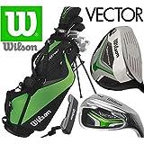 Wilson Vector HL Ensemble Complet Golf Club Stand De Luxe Sac Mens Clubs De Golf En Acier