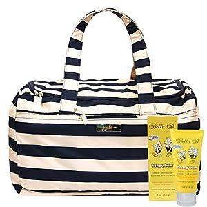 Bundle -2 Items:Ju-Ju-Be Super Star Duffel Diaper Bag - Legacy The First Mate & Bella B Honey Bum 2 oz by Ju-Ju-Be & Bella B