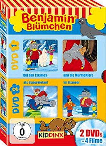 benjamin bl mchen bei den eskimos und die murmeltiere als superelefant im eismeer 2 dvds. Black Bedroom Furniture Sets. Home Design Ideas