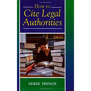 How to cite a legal dictionary