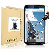 Nexus 6 Screen Protector, PLESON® Motorola Google Nexus 6 Tempered Glass Screen Protector 99.9% HD 0.3mm Slim 2.5D 9H Hardness Premium Tempered Glass Screen Protector For Nexus 6 [Lifetime Warranty]