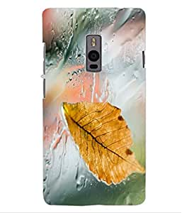 ColourCraft Lovely Rain Design Back Case Cover for ONEPLUS TWO