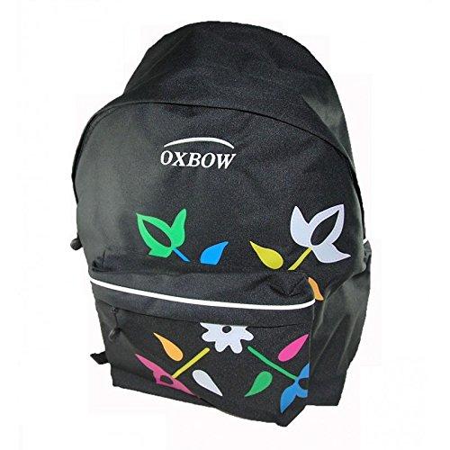 Oxbow-Zaino, morbida, con pendente di topazio, colore: nero